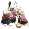 Four Mice Talking